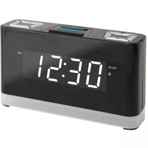 iLive ICWFV428B Platinum Voice Activated Clock with Amazon Alexa