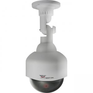 Night Owl DUM-PTZ-W Decoy PTZ Camera with Flashing LED Light