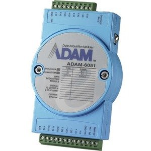 Advantech ADAM-6051-D 14-ch Isolated Digital I/O Modbus TCP Module with 2-ch Counter