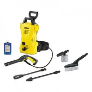 Karcher KCR16023150 1,600 PSI 1.25 GPM Compact Electric Pressure Washer with Car Care Kit