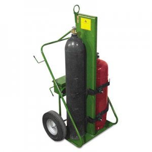 Saf-T-Cart SFA55216FW 550 Series Cart, 1000-lb Load Maximum, 38w x 62h, Green