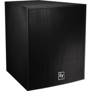 "Electro-Voice EVF-1181S-PIB EVF-1181S Single 18"" Front Loaded Subwoofer"