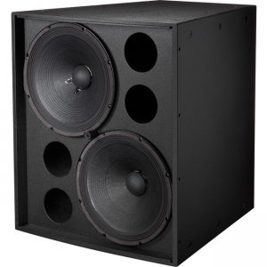 "Electro-Voice EVF-2151D-PIB EVF-2151D Dual 15"" Front-Loaded Subwoofer"