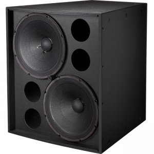 "Electro-Voice EVF-2151D-FGB EVF-2151D Dual 15"" Front-Loaded Subwoofer"