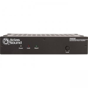 Atlas Sound PA60G 60W Single Channel Power Amplifier with Global Power Supply