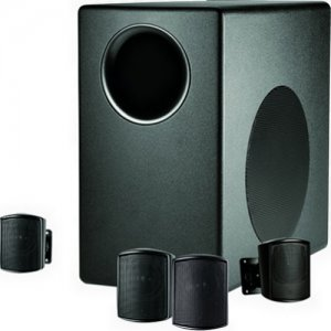 JBL C50PACK-WH Packaged Surface-Mount Subwoofer-Satellite Loudspeaker System