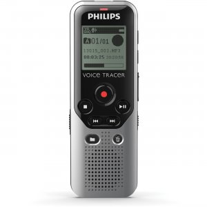 Philips DVT1200/00 Voice Tracer 4GB Digital Voice Recorder PSPDVT1200