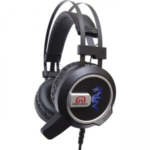 GamesterGear SY-AUD63113 Falcon Over the Ear Stereo PC Gaming Headset with Microphone LED Lights