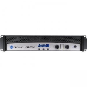 Crown NCDI6000 Two-channel, 2100W @ 4, 70V/140V Power Amplifier