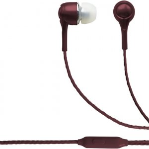 Blaupunkt BP1408 Wired Earbuds Burgundy