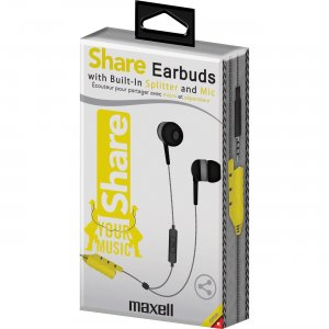 Maxell 199723 Share Earbuds MAX199723