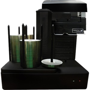 Vinpower Digital CRONUS-S4T-PRM-BK Cronus DVD/CD Publishers with Monochrome Thermal Printer - 4 Drives
