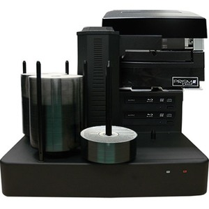 Vinpower Digital CRONUS-BD-S2T-PRM-BK Cronus Blu-Ray/DVD/CD Publishers with Monochrome Thermal Printer - 2 Drives