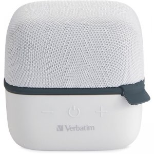 Verbatim 70227 Wireless Cube Bluetooth Speaker - White