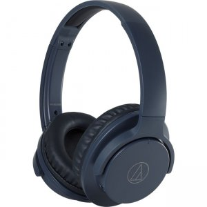 Audio-Technica ATH-ANC500BTNV QuietPoint Wireless Active Noise-Cancelling Headphones