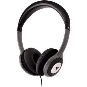 V7 HA520-2NP Deluxe Stereo Headphones with Volume Control