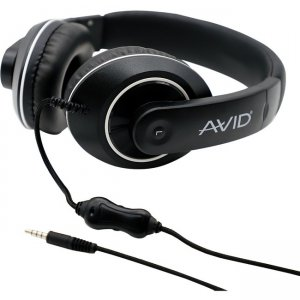 Avid 8EDU-12CPAE-9092 AE-9092 Headset with Carrying Case, 12 Pack, Black