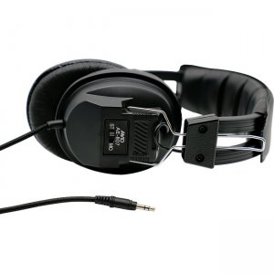 Avid 1EDU-AE807 AE-807 Stereo/Mono Headphone with 3.5MM, 1/8 Plug, Black
