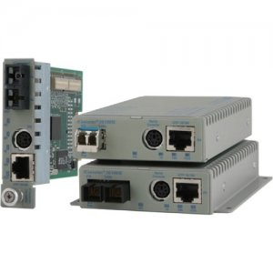 Omnitron Systems 8902-0-F iConverter 10/100M Transceiver/Media Converter