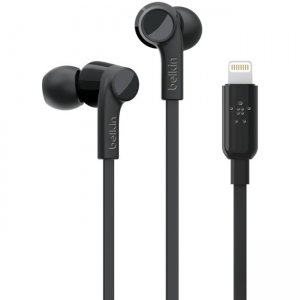 Belkin G3H0001BTBLK ROCKSTAR Headphones with Lightning Connector