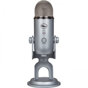 Blue 988-000100 Yeti Professional Multi-Pattern USB Mic for Recording & Streaming