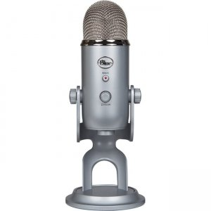 Blue 988-000101 Yeti Professional Multi-Pattern USB Mic for Recording & Streaming
