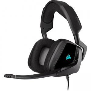 Corsair CA-9011203-NA VOID RGB ELITE USB Premium Gaming Headset with 7.1 Surround Sound - Carbon