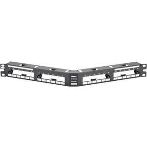 Panduit QASP24BL QuickNet Modular Patch Panel