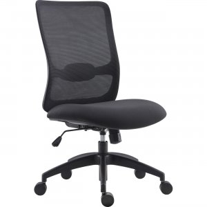 Lorell 54866 SOHO Collection Armless Staff Chair LLR54866