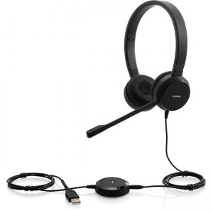 Lenovo 4XD0S92991 Pro Wired Stereo VOIP Headset