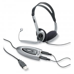 Compucessory 55257 Multimedia USB Stereo Headset