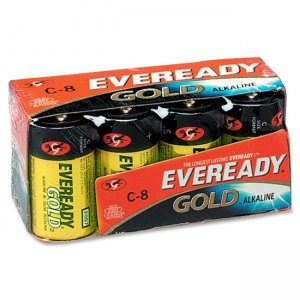 Eveready A938 Gold C Size General Purpose Battery