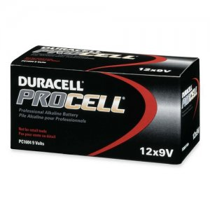 Duracell PC1604BKD Duracell PROCELL Alkaline General Purpose Battery DURPC1604BKD