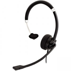 V7 HU411 Deluxe USB Mono Headset with Boom Mic