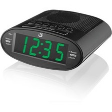 DPI C303B Time Zone Dual Alarm Clock Radio