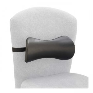 Safco 7154BL Lumbar Support Memory Foam Backrest SAF7154BL