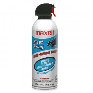 Maxell 190025 Blast Away Canned Air (Single Can) CA-3