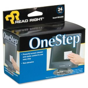 Advantus Corp RR1209 OneStep CRT Screen Cleaning Wipes REARR1209