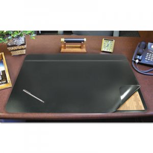 Artistic AOP48041S Hide-Away PVC Desk Pad, 24 x 19, Black