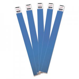 Advantus 75513 Crowd Management Wristbands, Sequentially Numbered, Blue, 500/Pack AVT75513