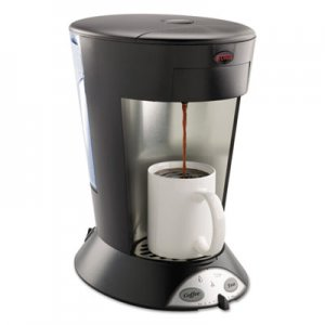 BUNN MCP My Cafe Pourover Commercial Grade Coffee/Tea Pod Brewer, Stainless Steel, Black BUNMCP