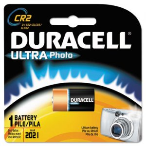 Duracell DLCR2BPK Ultra High Power Lithium Battery, CR2, 3V DURDLCR2BPK