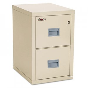 FireKing 2R1822CPA Turtle 2-Drawer File, 17-3/4w x 22-1/8d, UL Listed 350° for Fire, Parchment
