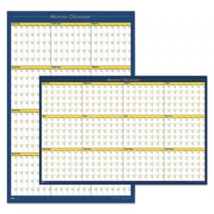 House of Doolittle HOD642 100% Recycled 12-Month Laminated Planning Board, 36 x 24