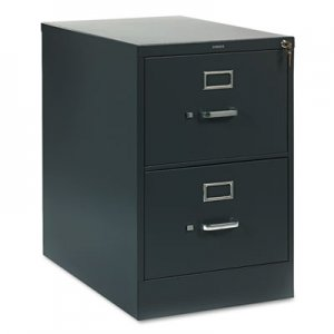 HON HON312CPS 310 Series Two-Drawer, Full-Suspension File, Legal, 26-1/2d, Charcoal