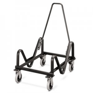 HON HON4043T Olson Stacker Series Cart, 21-3/8 x 35-1/2 x 37, Black