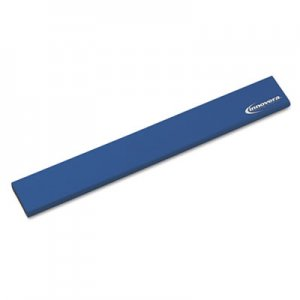 Innovera IVR52457 Latex-Free Keyboard Wrist Rest, Blue