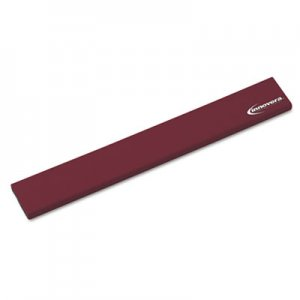 Innovera IVR52455 Latex-Free Keyboard Wrist Rest, Burgundy