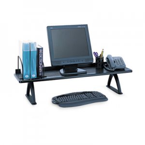 Safco 3603BL Value Mate Desk Riser, 100-Pound Capacity, 42 x 12 x 8, Black SAF3603BL