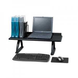 Safco 3602BL Value Mate Desk Riser, 100-Pound Capacity, 30 x 12 x 8, Black SAF3602BL